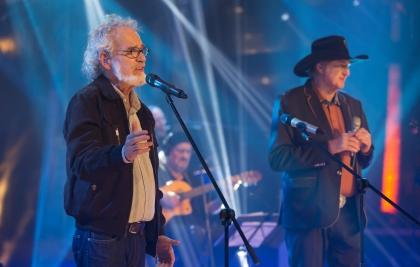 Teatro Positivo recebe show de Sérgio Reis e Renato Teixeira