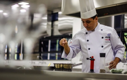 Chef Eudemar Cavalcanti ensina receitas elaboradas de Risotos na Casa da Si