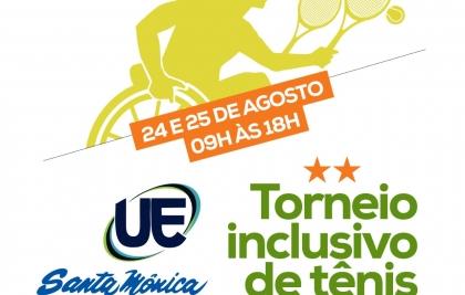 Santa Mônica recebe Torneio Inclusivo de Tênis