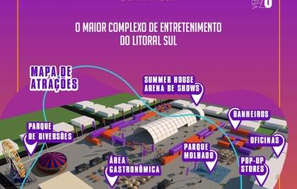 Guaratuba ganha o maior complexo de entretenimento do Litoral Sul