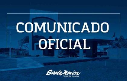 Santa Mônica Clube de Campo suspende suas atividades