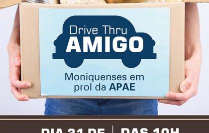 Escoteiros do Santa Mônica fazem Drive Thru para arrecadar alimentos para APAE